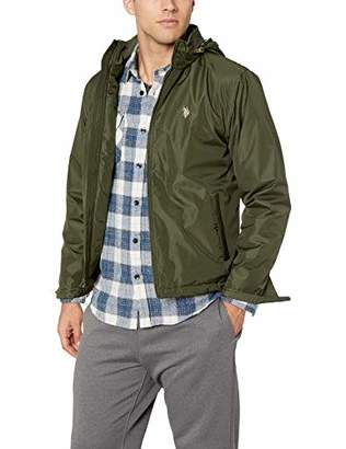 U.S. Polo Assn. Men's PU Piped Jacket