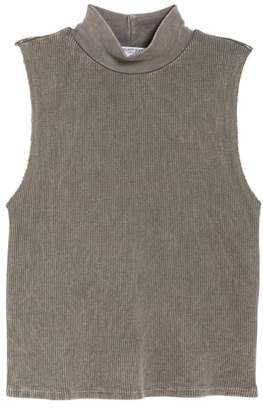 Project Social T Annie Thermal Sleeveless Mock Neck Top