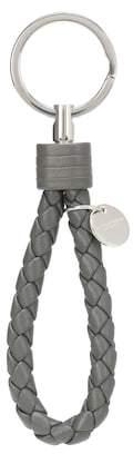 Bottega Veneta Intrecciato leather key fob