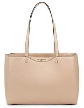 Karl Lagerfeld Paris Doreen Smooth Leather Tote