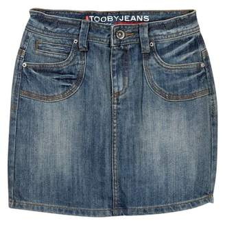 Toobydoo Jean Skirt (Toddler, Little Girls, & Big Girls)