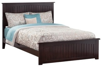 Atlantic Furniture Nantucket Traditional Bed with Matching Foot Board, Multiple Sizes, Multiple Colors