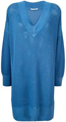 Agnona mesh dress