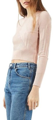 Women's Topshop Variegated Rib Sweater $35 thestylecure.com