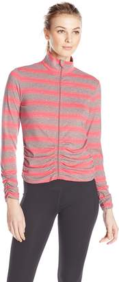 Calvin Klein Women's Rouched Fitness Jacket