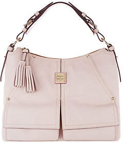 Dooney & Bourke Smooth Leather Hobo-Kingston