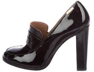 Calvin Klein Patent Leather Round-Toe Pumps