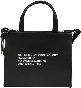 Off-White Off White Small Printed Shoulder Bag