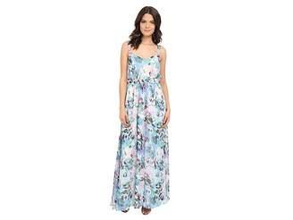 BB Dakota Filippus Floral Haze Printed Maxi Dress Women's Dress
