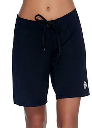 "Body Glove Women's Smoothies Harbor Solid 8"" Vapor Boardshort"