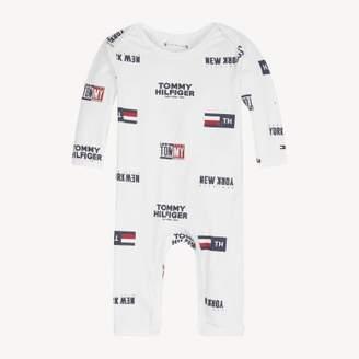 Tommy Hilfiger Baby Printed Footless Bodysuit