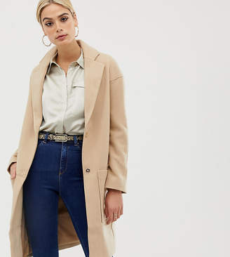 Asos Tall TALL Crepe Pocket Detail Coat