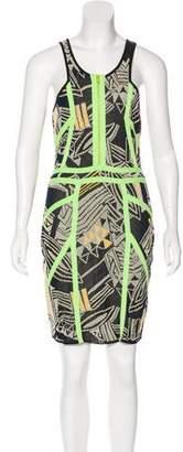 Yigal Azrouel Cut25 by Knit Knee-Length Dress