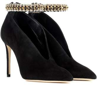 Jimmy Choo Lux 100 suede pumps