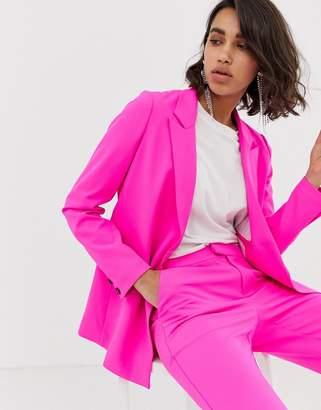 Custom Made Custommade Anya pink suit jacket