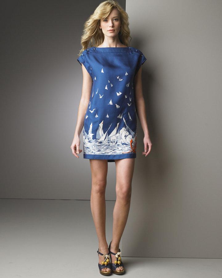 Stella McCartney Sail Print Dress