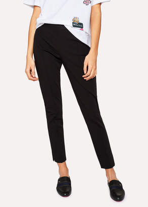 Paul Smith Women's Black Super-Stretch Skinny-Fit Pants