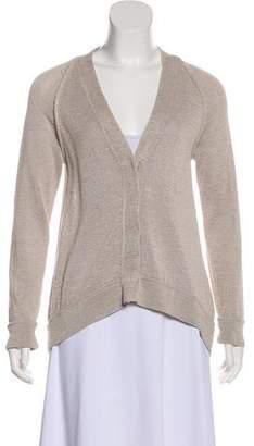 Brunello Cucinelli Long Sleeve Knit Cardigan