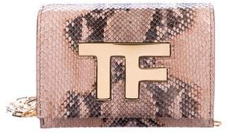 Tom Ford Icon Disco Leather Crossbody Bag