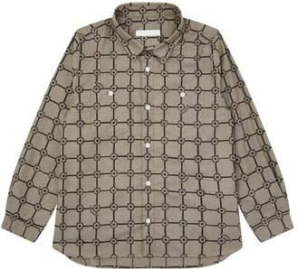 Burberry Cotton Grid Shirt