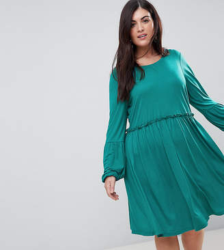 Junarose Long Sleeve Skater Dress