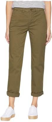 Lauren Ralph Lauren Stretch Cotton Skinny Pants Women's Casual Pants