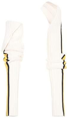 Calvin Klein Striped wool sleeves