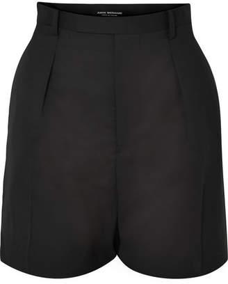 Junya Watanabe Wool-blend Shorts - Black