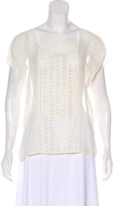 Band Of Outsiders Abbey Oversize Blouse