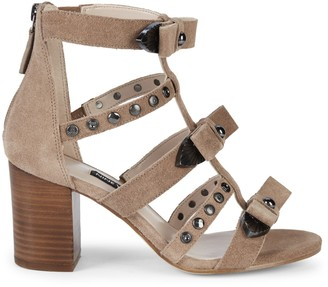 Nine West Giovanna Studded Sandals