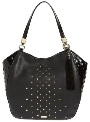 Brahmin Nara Marianna Leather Tote - Black $365 thestylecure.com