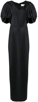 Chalayan drape shoulder dress