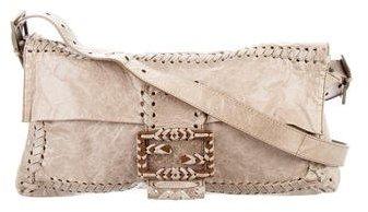 Fendi Distressed Grand Baguette Bag