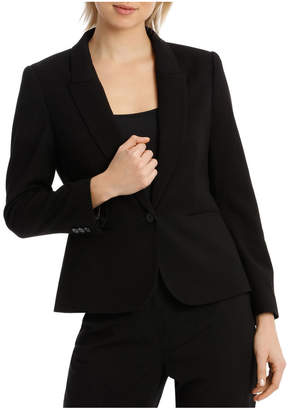 Peplum Prism Suit Jacket