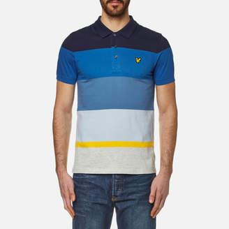 Lyle & Scott Men's Engineered Stripe Polo Shirt