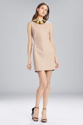 Natori Josie Faux Leather Sleeveless Dress