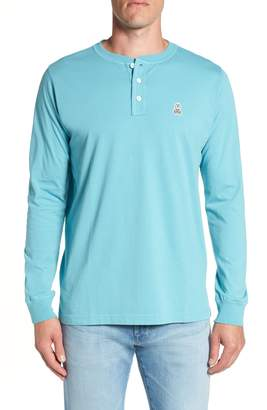 Psycho Bunny Long Sleeve Henley T-Shirt
