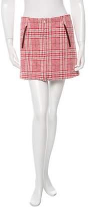 Thakoon Printed A-Line Skirt
