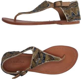 Aspiga Toe strap sandals