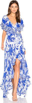 Camilla Frill Sleeve Dress