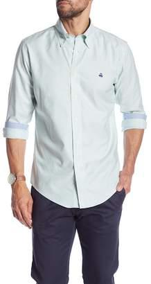 Brooks Brothers Striped Print Regent Fit Shirt