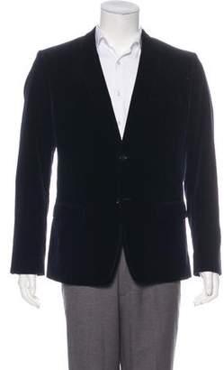 Dolce & Gabbana Woven Velvet Blazer