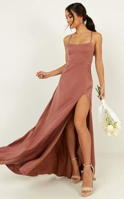 Showpo Will it be us dress in dusty rose - 6 (XS) Bridesmaid