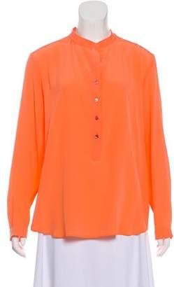Stella McCartney Silk Long Sleeve Top