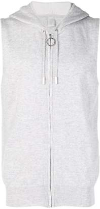 Eleventy cashmere vest hoodie