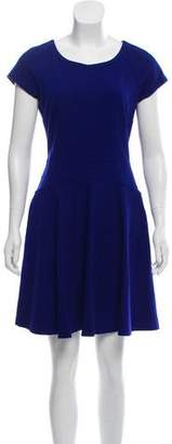 Diane von Furstenberg Sleeveless A-line Mini Dress
