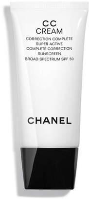 Chanel Cc Cream Super Active Correction Complete Sunscreen Spf 52