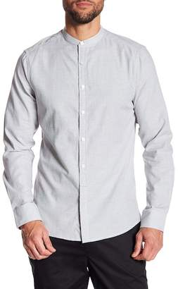 Kenneth Cole New York Mandarin Collar Regular Fit Shirt