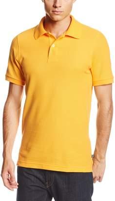 Lee Uniforms Modern Fit Short Sleeve Polo Shirt,Heather Grey