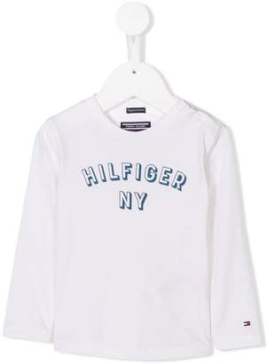 Tommy Hilfiger Junior logo printed T-shirt